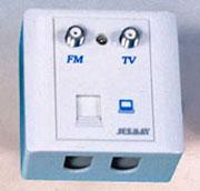 杰和兴 五类线用户终端盒